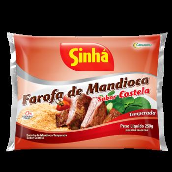 Farofa sabor Costela 250g