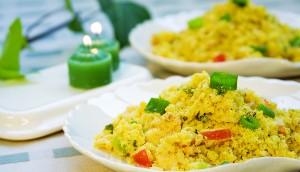 Farofão de arroz