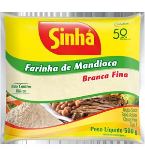 Farinha de Mandioca Branca 500g