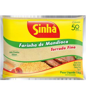 Farinha de Mandioca Torrada 1kg