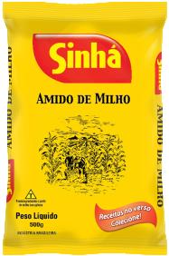 Amido de Milho 500g – Plástico
