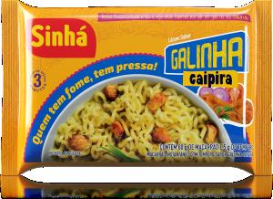 Lámen Galinha Caipira