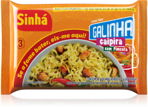 Lámen Galinha Caipira com Pimenta